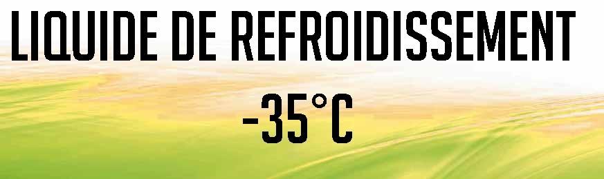 LIQUIDES DE REFROIDISSEMENT -35°C